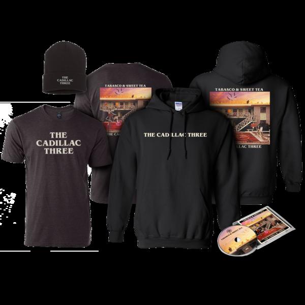 The Cadillac Three: TABASCO AND SWEET TEA: CD, T-Shirt, Hoodie, Beanie