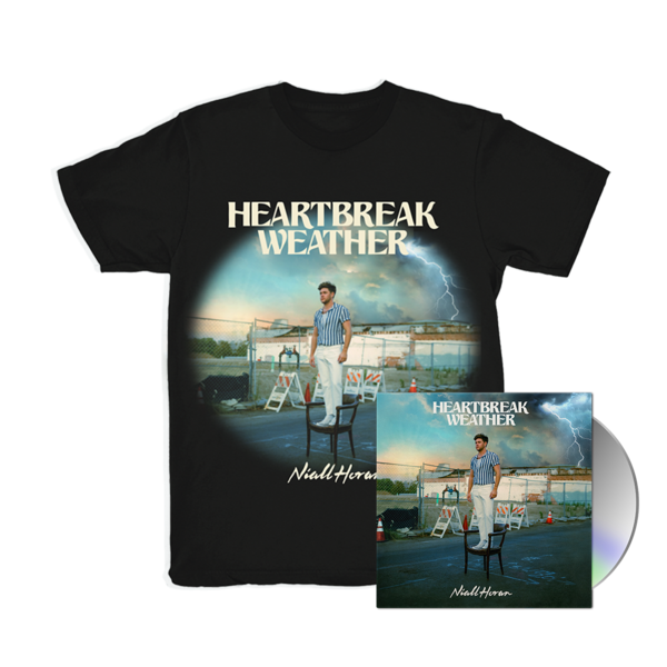 Niall Horan: CD & HEARTBREAK WEATHER BLACK T-SHIRT