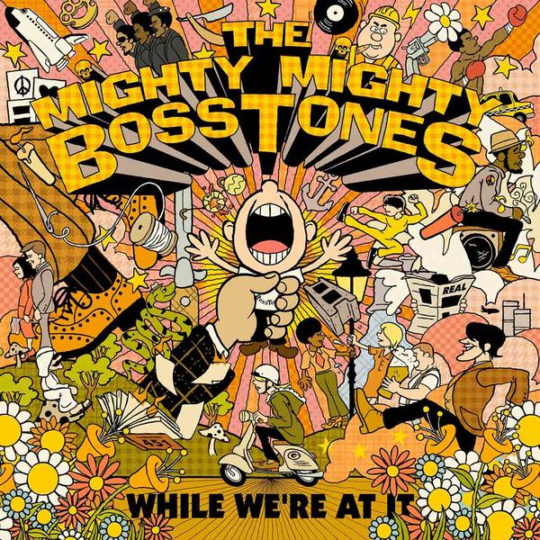 The Mighty Mighty Bosstones : While We're At It: Coloured Vinyl LP