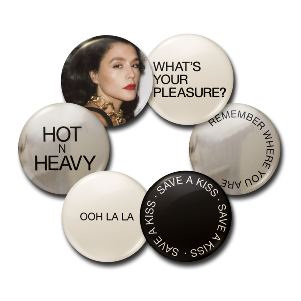 Jessie Ware: What's Your Pleasure (The Platinum Pleasure Edition) Badges