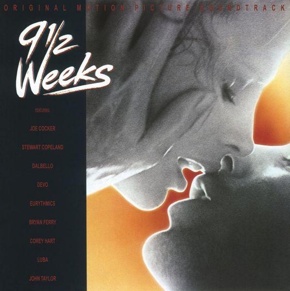 Various Artists: 9 ½ Weeks Original Soundtrack: Transparent Red Vinyl