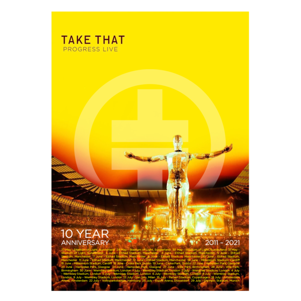 takethat: Progress Live Anniversary Lithograph