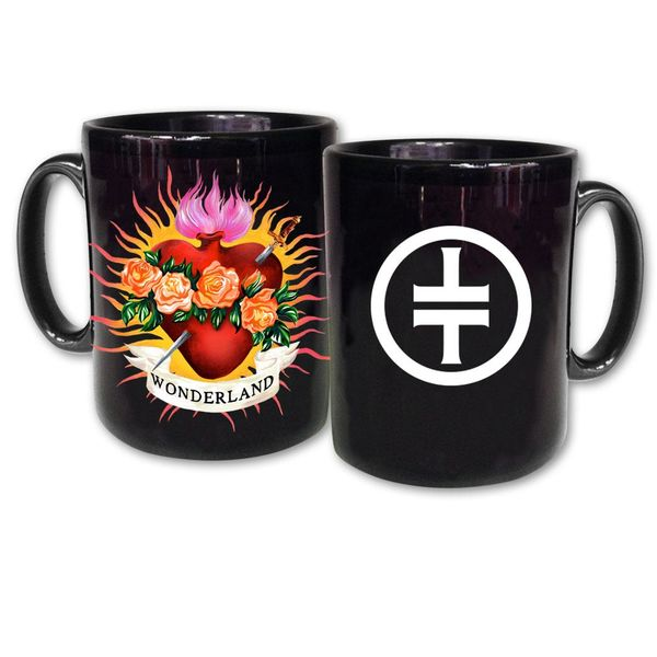 takethat: Flaming Heart Mug
