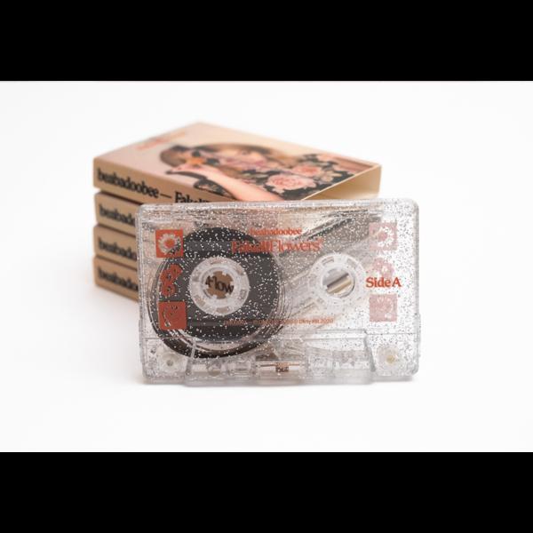 Beabadoobee: Fake It Flowers - Silver Glitter Cassette