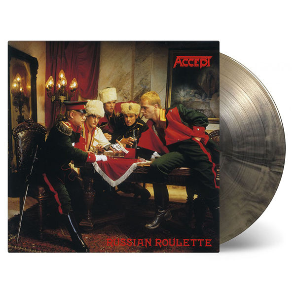 Accept: Russian Roulette: Limited Edition Gold & Black Swirl Vinyl