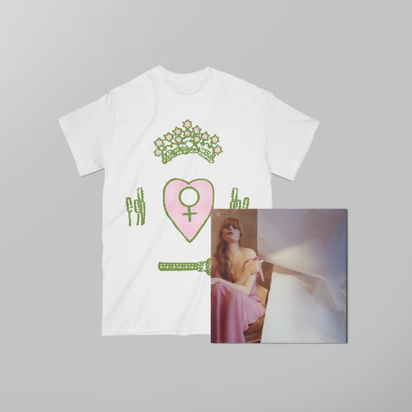 Florence + The Machine: High As Hope Bespoke Boxset + Tarot T-Shirt
