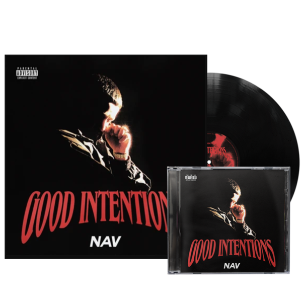 Nav: GOOD INTENTIONS: CD + VINYL