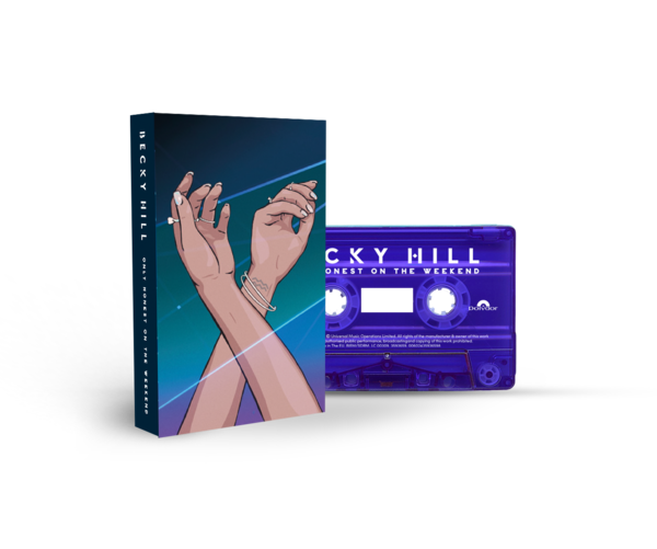 Becky Hill: Only Honest On The Weekend Signed Cassette 3