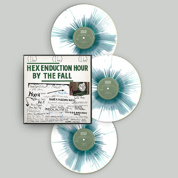 The Fall: Hex Enduction Hour: Limited Edition Green & White Splatter Triple Vinyl + Bonus 7