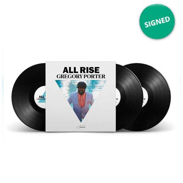 Gregory Porter: Exclusive Signed All Rise Triple