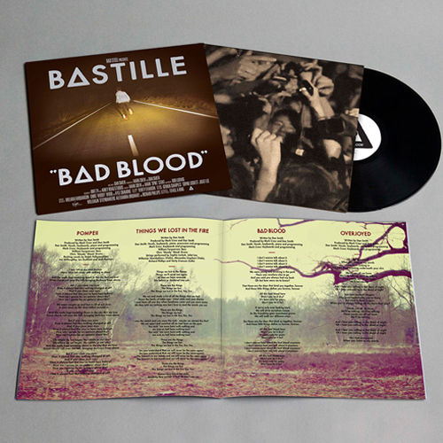 Bastille: Bad Blood Vinyl LP