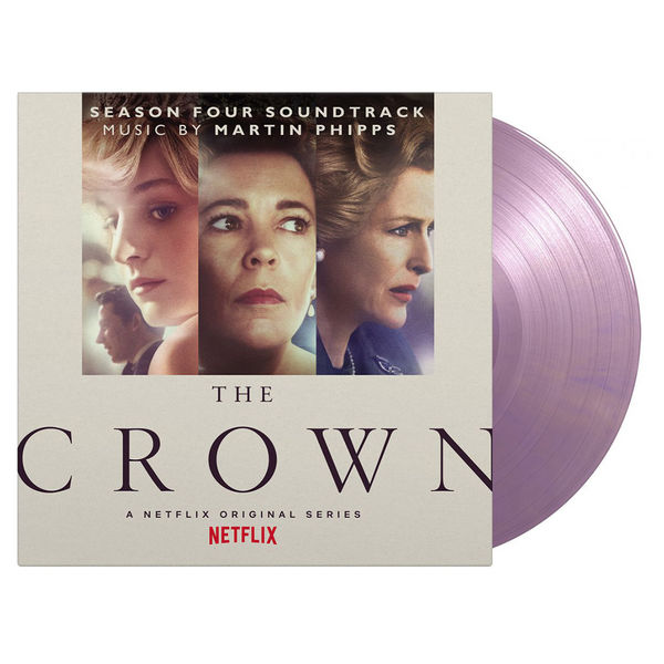 Original Soundtrack: The Crown Season 4: Limited Edition Royal Purple Marbled Vinyl