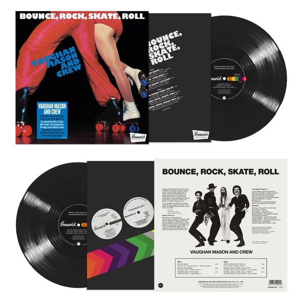 Vaughan Mason And Crew: Bounce, Rock, Skate, Roll: Limited Edition Black Vinyl