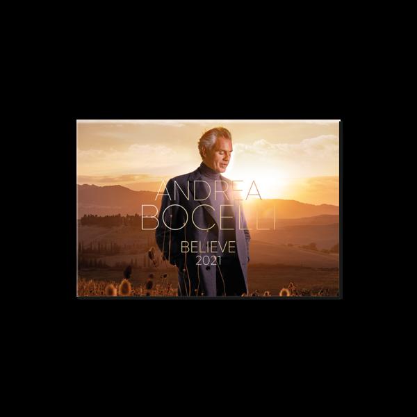 Andrea Bocelli: Believe 2021 Calendar
