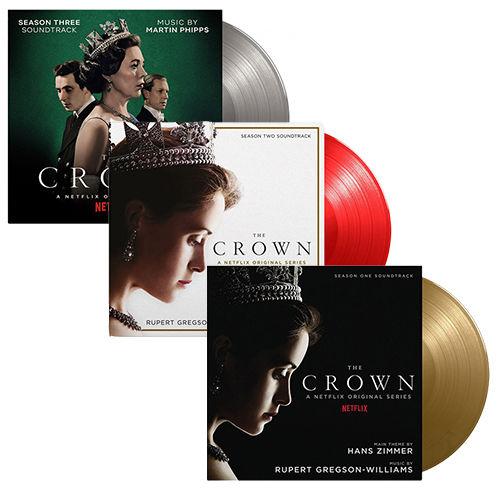 Original Soundtrack: The Crown Seasons 1 to 3: SOV UK Exclusive Colour Vinyl Bundle