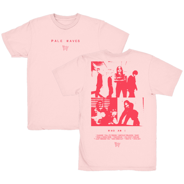 Pale Waves: 'Who Am I?' T-Shirt + Red Cassette