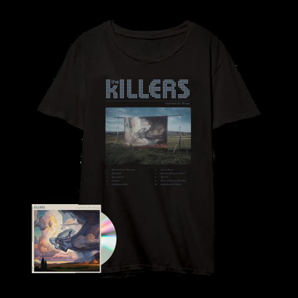 The Killers: ITM Tracklist Tee Black + CD