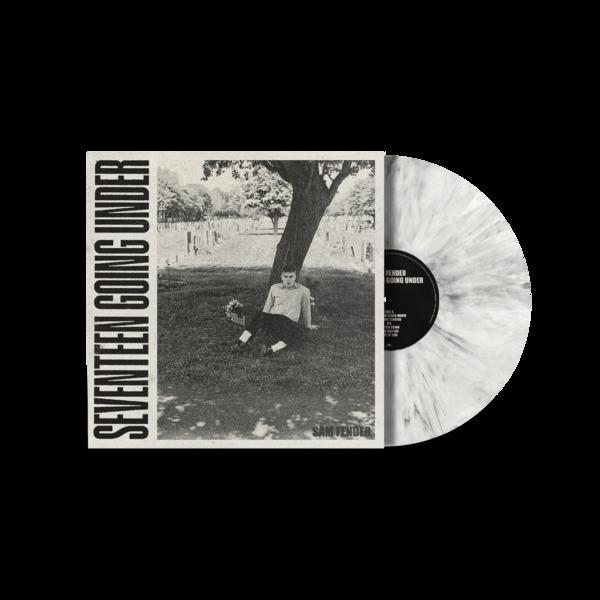 Sam Fender: Seventeen Going Under Ltd Edition White Marble Vinyl