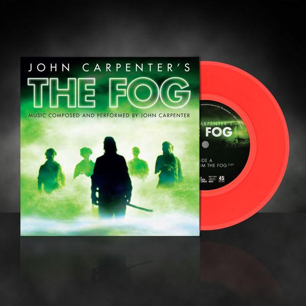 John Carpenter: The Fog: Limited Edition Red Vinyl 7