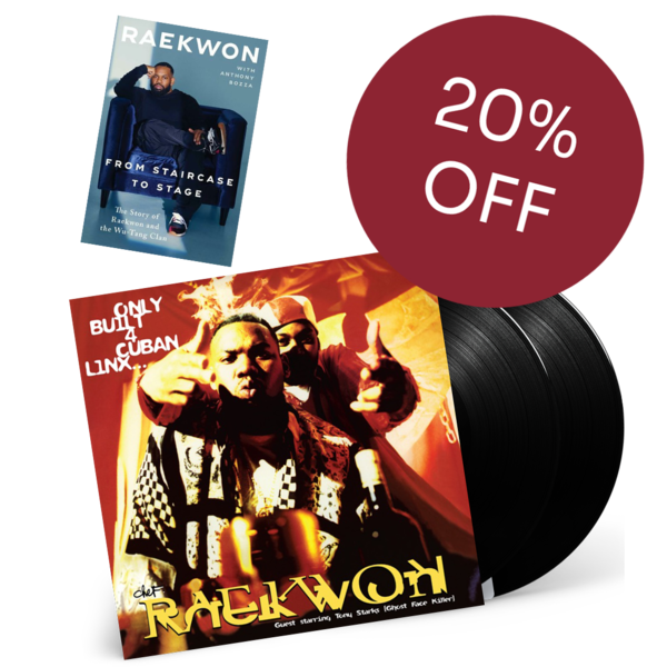 Raekwon: *20% OFF BUNDLE * From Staircase to Stage & Only Built For Cuban Linx...