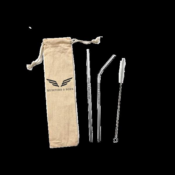 Mumford & Sons : Reusable Straw Set