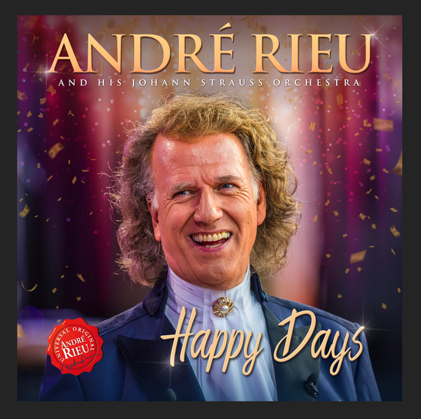 André Rieu: Happy Days CD + DVD