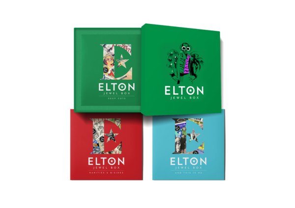 Elton John: Jewel Box 9LP Boxset