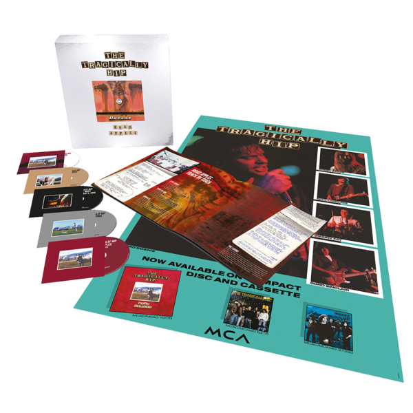 The Tragically Hip: Road Apples - 30th Anniversary (Deluxe Edition): Limited Edition 4CD Boxset