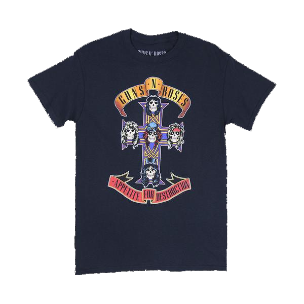 Guns N' Roses: Appetite Cross T-Shirts