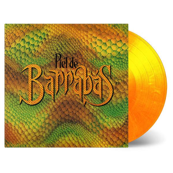 Barrabas: Piel de Barrabas: Limited Edition Yellow & Orange Swirl Vinyl