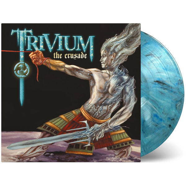 Trivium: The Crusade (Mixed Blue, White and Black Double Vinyl)