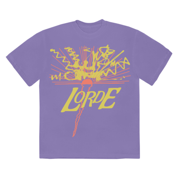 Lorde: THE BEES THE SUN THE TREES T-SHIRT