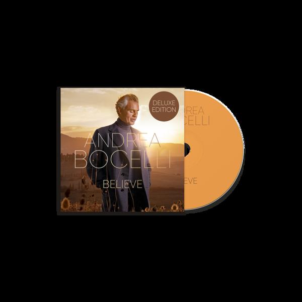 Andrea Bocelli: Believe Deluxe CD