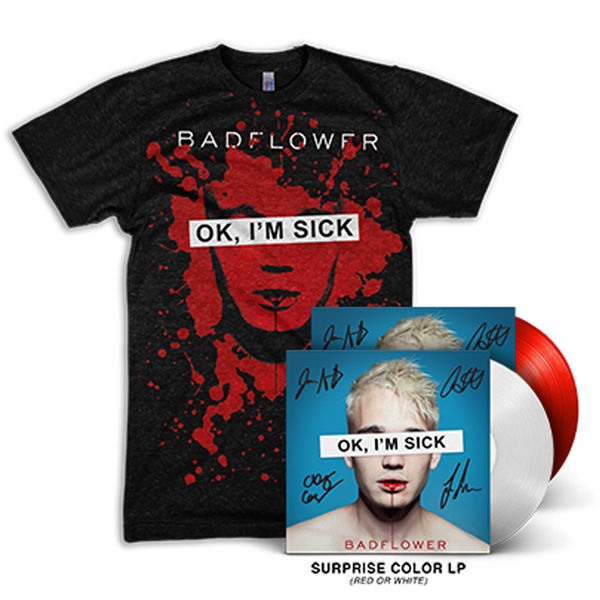 Badflower: OK, I'M SICK VINYL + TEE