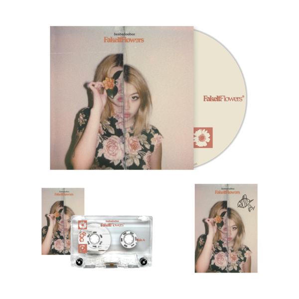 Beabadoobee: Fake It Flowers Clear CD Bundle (Signed)