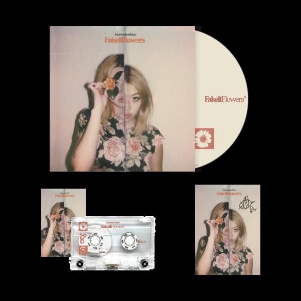 Beabadoobee: Fake It Flowers Clear CD Bundle (Signed)