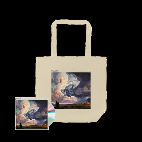 The Killers: ITM Album Art Tote Bag (Natural) + CD