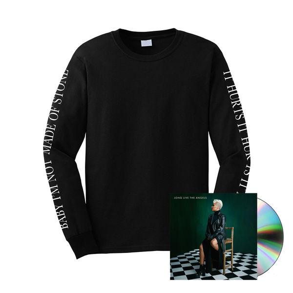 Emeli Sande: Hurts Black Long Sleeve + Deluxe CD