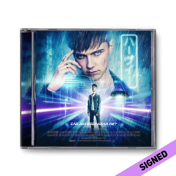 HRVY: Signed Can Anybody Hear Me? Standard CD