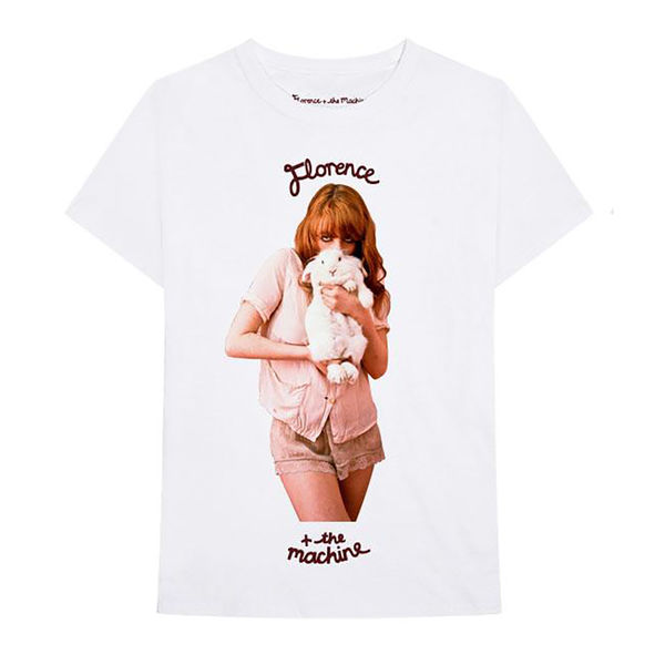 Florence + The Machine: White Rabbit Tee - L