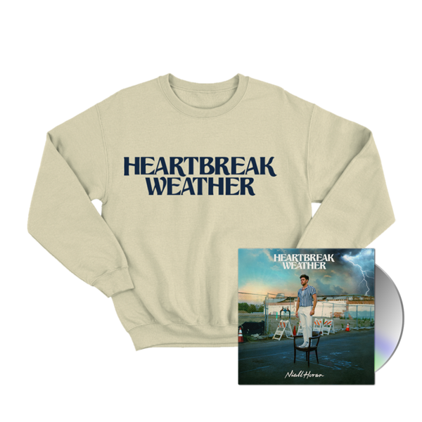 Niall Horan: CD & HEARTBREAK WEATHER SAND CREWNECK SWEATER