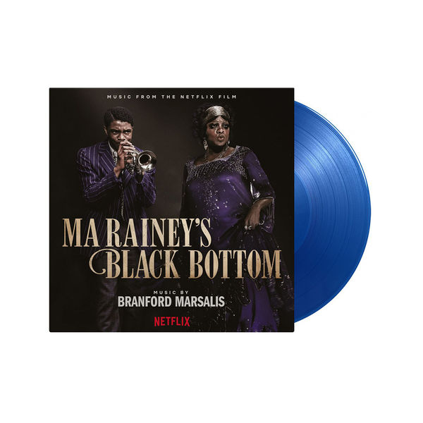 Original Soundtrack: Ma Rainey's Black Bottom: Limited Edition Transparent Blue Vinyl