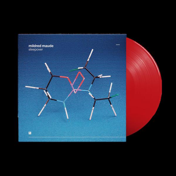 Mildred Maude : Sleepover: Translucent Red Vinyl LP