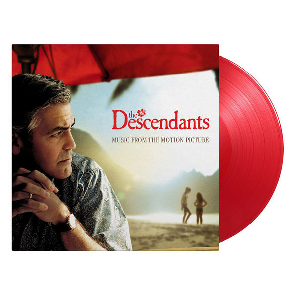 Original Soundtrack: The Descendants: Limited Edition Transparent Red Vinyl