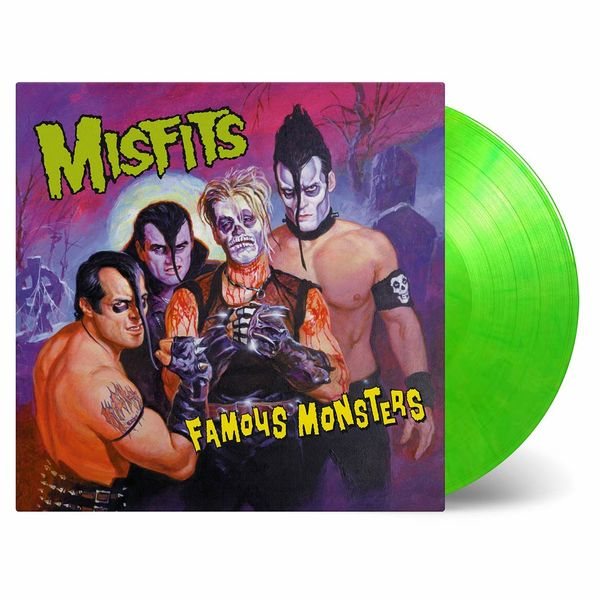 Misfits: Famous Monsters: Transparent Green & Yellow Numbered Vinyl