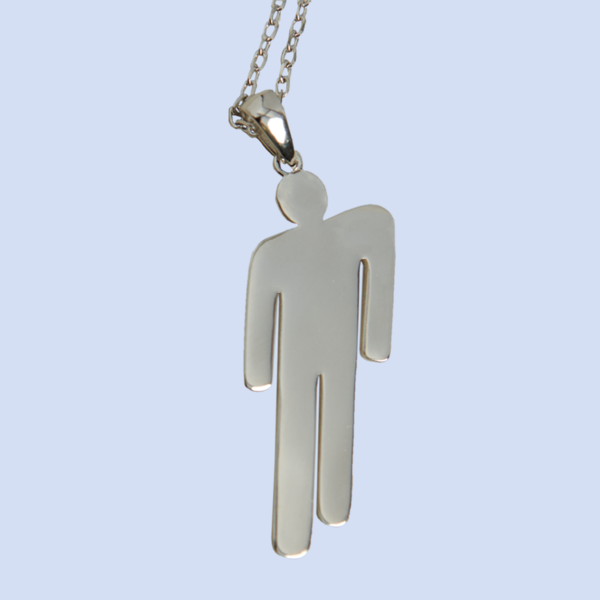 Billie Eilish: BLOHSH PENDANT STAINLESS STEEL NECKLACE -