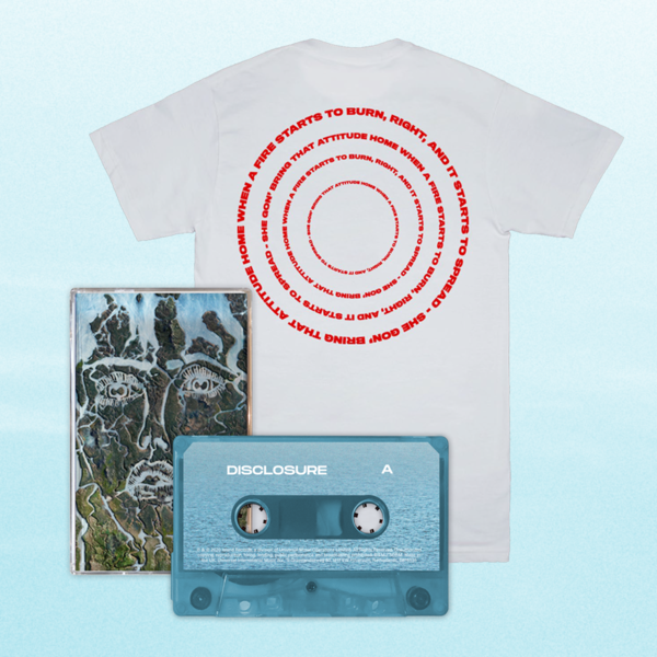 Disclosure: When A Fire Starts To Burn Tee + Cassette