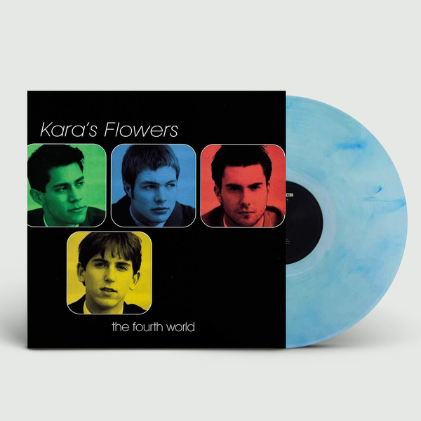 Kara's Flowers (Maroon 5): The Fourth World: Limited Edition Marbled Blue Vinyl