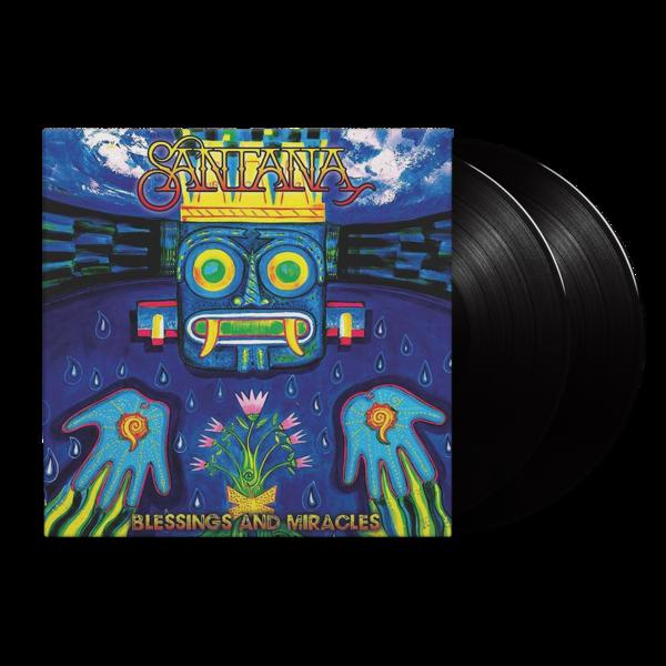 Santana: Blessings and Miracles: Black Vinyl 2LP