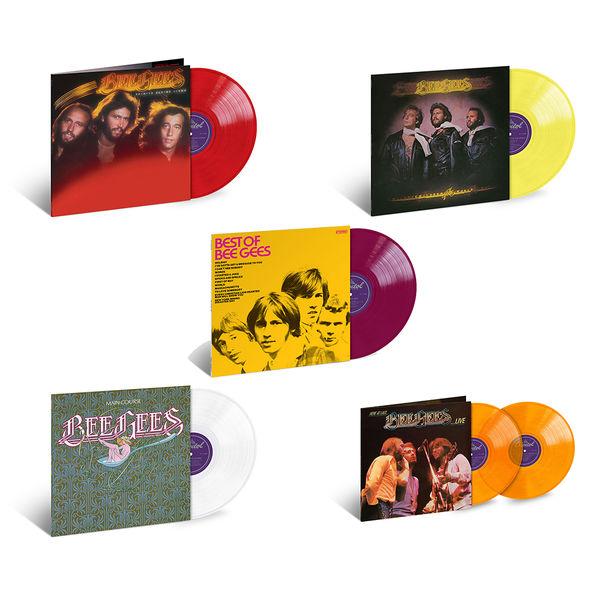 Bee Gees: Exclusive Five Album Colour Vinyl Bundle